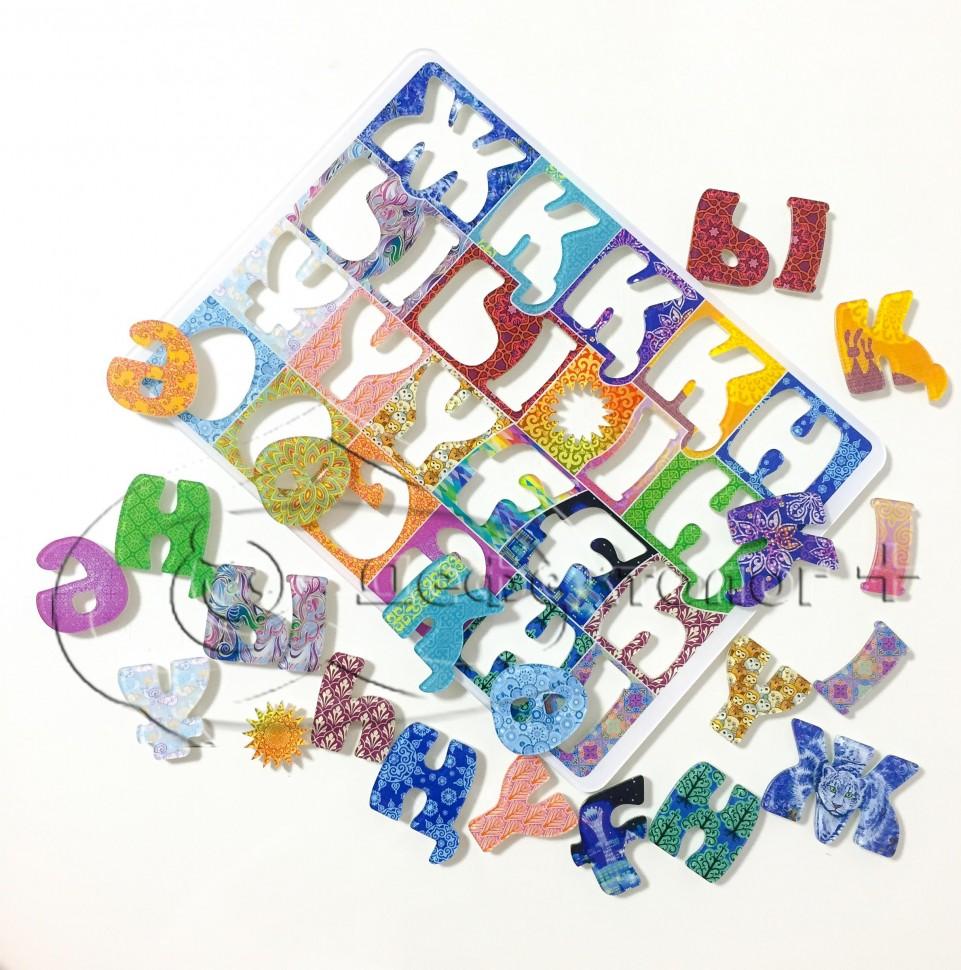 магнитная азбука казахский алфавит